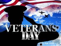 CLOSED - Veterans Day